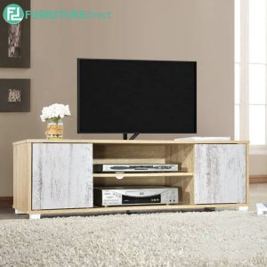 KIACHEL TV Cabinet 120cm (4ft) - Particle Board