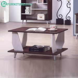MEREVILLE Coffee Table - Length 80cm - Particle Board