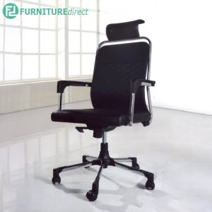 ALEWICK Office Chair with 360° degree and height adjust - Black