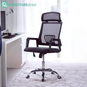 TOWNCA Office Chair with 360° degree and height adjust - Black