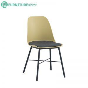 LAXMI (45cm) Side Chair - White / Grey / Midnight Blue / Dusty Green / Dusty Yellow