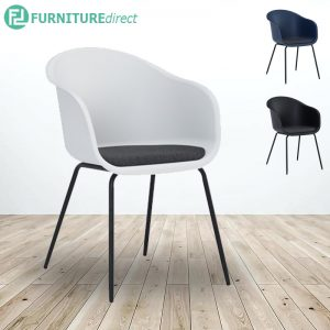 COLLEEN/ CONVEX PP plastic shell Armchair - 3 colors