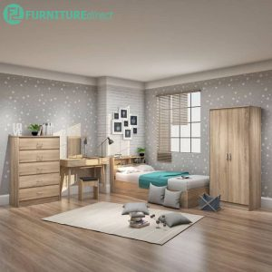 LANNA single 5 pieces bedroom set