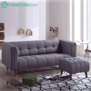 CONVENTRY 3 seater L shaped sofa-grey