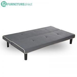 TULIS fabric 3 seater sofa bed-grey