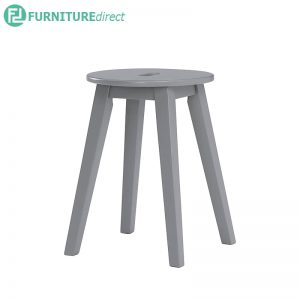CALDER (SH45cm) Stool - Light Grey