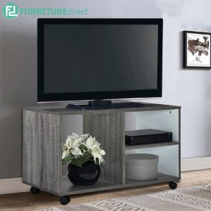 TAD BODEN 80cm TV Cabinet- Grey Oak