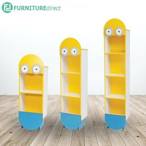 TAD MINIONS kids cabinet storage rack - 3 different height size