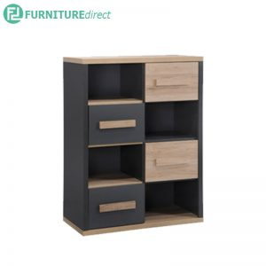 TAD KOBI 4 drawer bookcases kids bookshelf cabinet