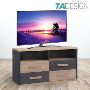 [CLEARANCE] TAD KOBI 4 drawer TV Cabinet