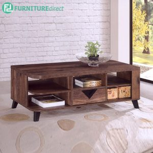 TEXAS COFFEE TABLE - Particle Board - Cappuccino