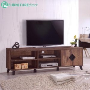 TEXAS 6FT TV CABINET - Particle Board - Cappuccino