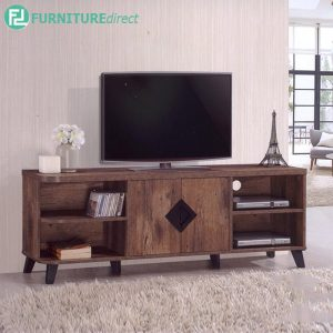 TEXAS 5FT TV CABINET - Particle Board - Cappuccino