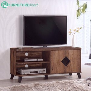 TEXAS 4FT TV CABINET - Particle Board - Cappuccino