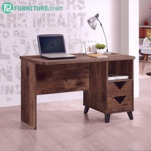 TEXAS STUDY DESK - Particle Board - Cappuccino