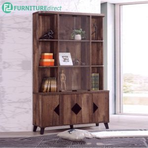 TEXAS DISPLAY RACK - Particle Board - Cappuccino