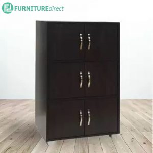 TAD MA06 bookcase with 6 doors filling cabinet