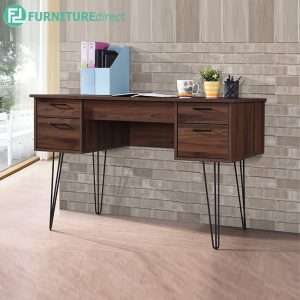 TRIANGLE STUDY DESK - Particle Board - Cappuccino