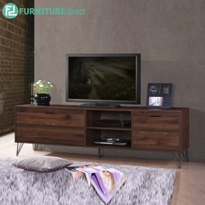 TRIANGLE 6FT TV CABINET - Particle Board - Cappuccino