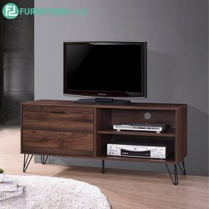 TRIANGLE 4FT TV CABINET - Particle Board - Cappuccino