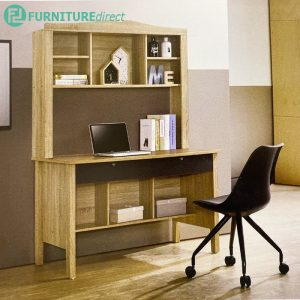 602002 study desk with book shelf