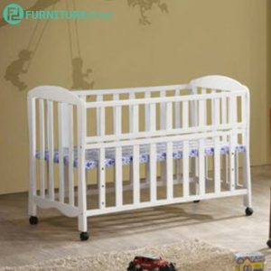 BC99 drop side solid wood baby cot-4 colors