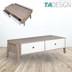 ALISA Scandinavian style 4ft coffee table
