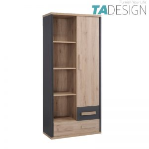 TAD KOBI 1 door 2 drawers book shelf bookcase filling cabinet