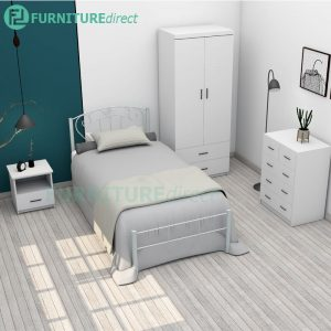 LIBERTY 4 pieces single size bedroom set-White