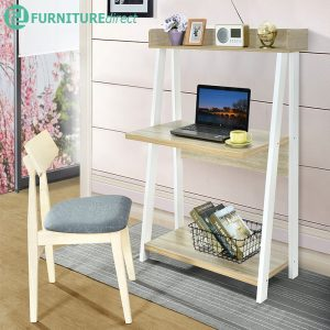 POLAND study desk with book shelf