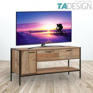 UTAH industrial design 4ft TV Cabinet