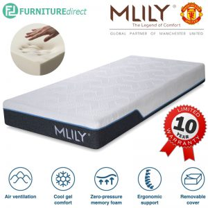 "MlILY 8"" Supreme cool gel memory foam mattress"
