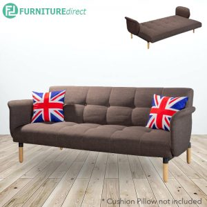 FAZER 3 seater sofa bed with arm rest