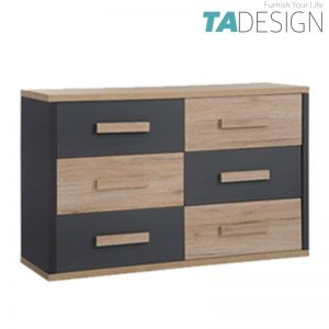 KOBI 6 Drawers chest of drawer