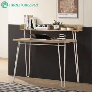 MILAN double layer metal legs study desk