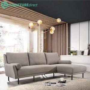 MIYA L shaped faric sofa