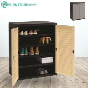 OPTIMUS 5 tiers plastic shoe cabinet - 2 Colos