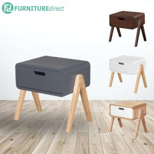 TOMOMU solid wood stackable side table- 4 colors