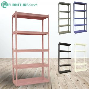 KELSEY heavy duty metal rack in pastel color