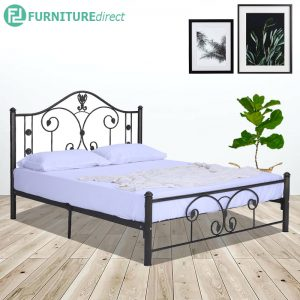 SANTA queen size metal bedframe