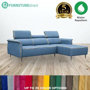 Custom Made- RO005 ALEXA 3 seater L shaped water repellent sofa