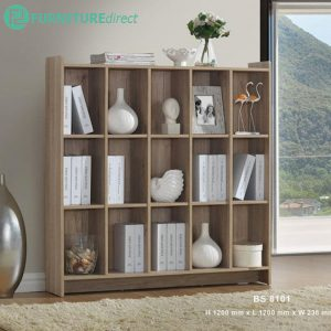 CLEARANCE- BS8101 4 feet bookcase filling cabinet- 1 unit only