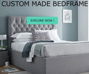 CUSTOM MADE banner square-bed