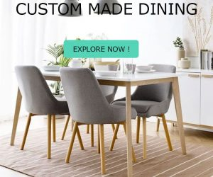 CUSTOM MADE banner square-dining