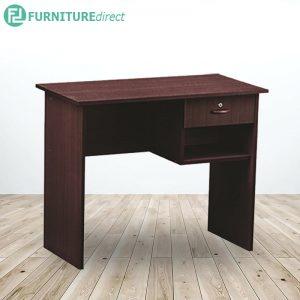 EKO 3 feet office desk study desk with 1 drawer- Cappucino