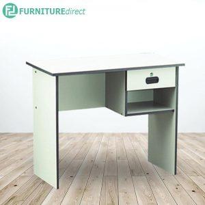 EKO 3 feet office desk study desk with 1 drawer- Grey