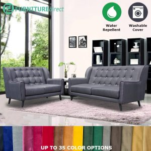 Custom Made- RO008 IMOGEN 2+3 seater water repellent sofa