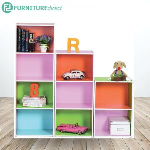 JAYLEND mixed color bookcase colorbox
