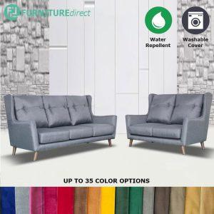 Custom Made- RO001 KARA 2+3 seater water repellent sofa