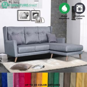 Custom Made- RO002 KARA 3 seater L shaped water repellent sofa